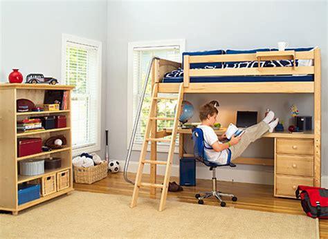 kid bed with desk best study loft beds part 2