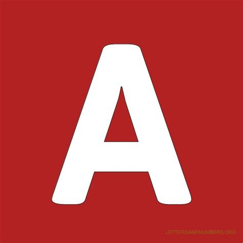 free printable red alphabet letters free alphabet letters a to z red letters and numbers org