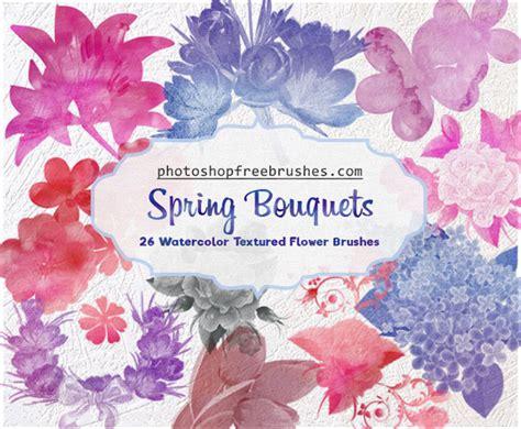 photoshop tutorial watercolor flower watercolor flowers photoshop brushes photoshop free brushes