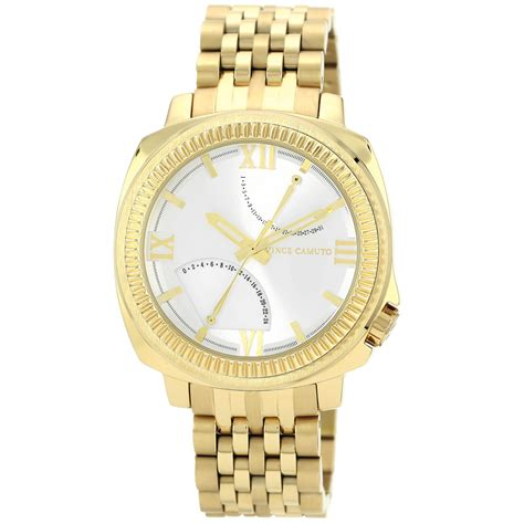 vince camuto s gold tone stainless steel bracelet
