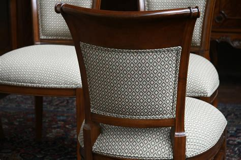 Dining Chairs Upholstery Mahogany Dining Room Chairs With Upholstered Back Ebay