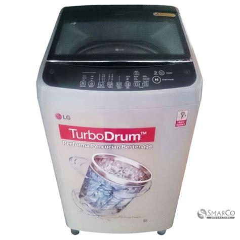 Mesin Cuci Lg Top Loading detil produk lg mesin cuci top loading 10kg tsa11nns abu