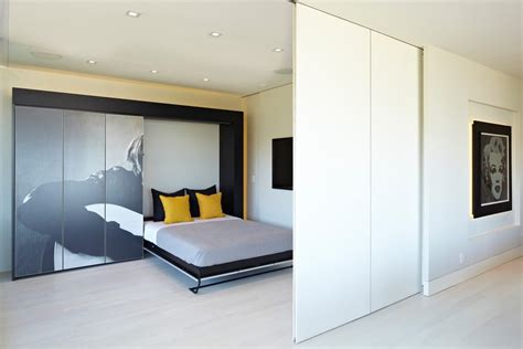 bedroom full size murphy bed moving wall bedroom contemporary with suelos de madera