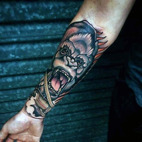 top 100 best forearm tattoos for men unique designs