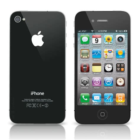 Apple 4 16gb apple iphone 4 16gb verizon wireless wifi black smartphone 885909406487 ebay