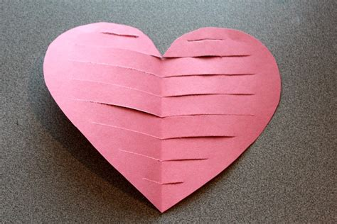craft paper hearts bible crafts