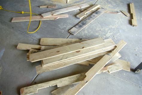 How To Take Apart A Futon by How To Take Apart A Wood Pallet Our House Now A Home