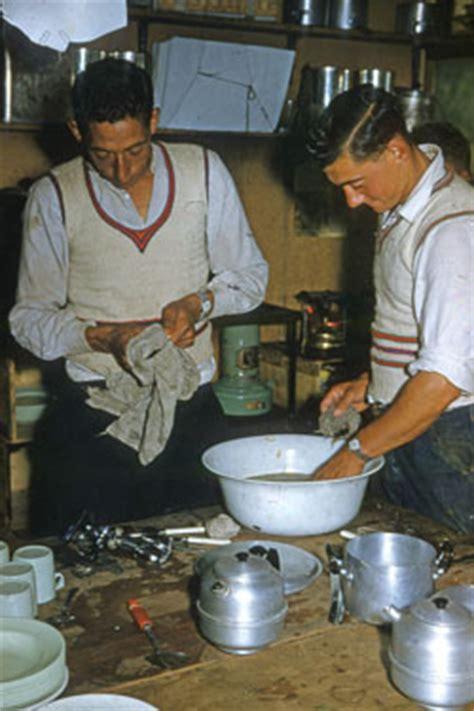 ernie boatswain harold washing and ernie drying up