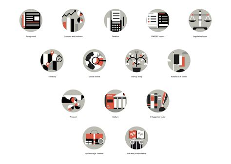 icon design mag sink or swim press magazine section icons