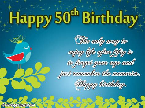 Happy 50 Birthday Wishes 50th Birthday Wishes Messages And 50th Birthday Card