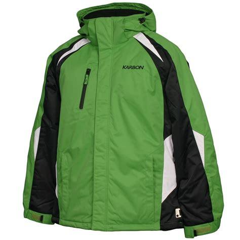 Mens Insulated Ski Jacket karbon pluto insulated ski jacket s glenn