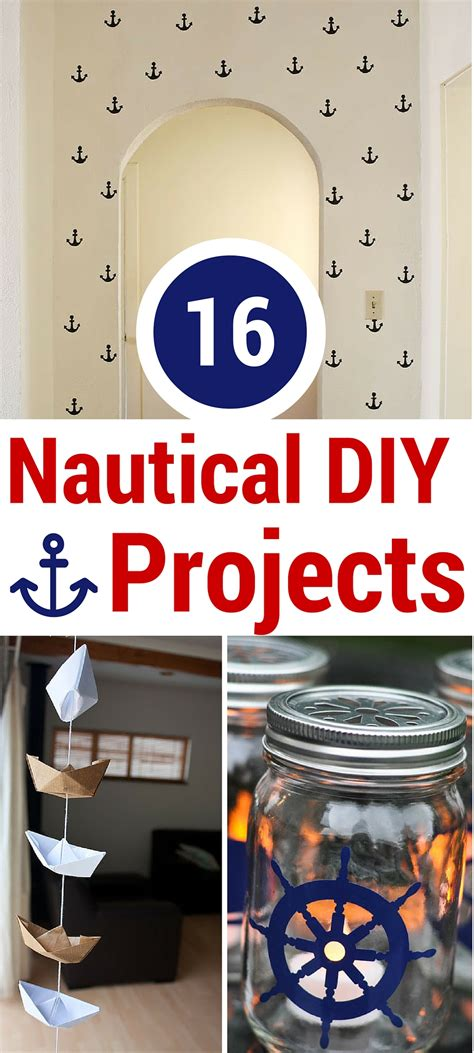 nautical diy projects 16 nautical diy projects tgif this is