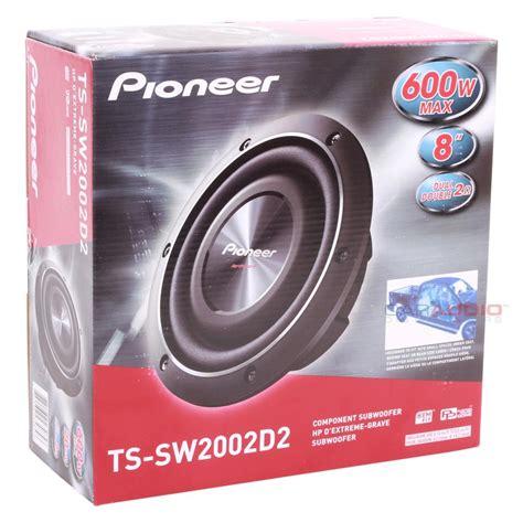 Speaker Subwoofer Pioneer 8 new pioneer ts sw2002d2 8 quot 150rms dual 2 car audio subwoofer slim shallow speaker ebay