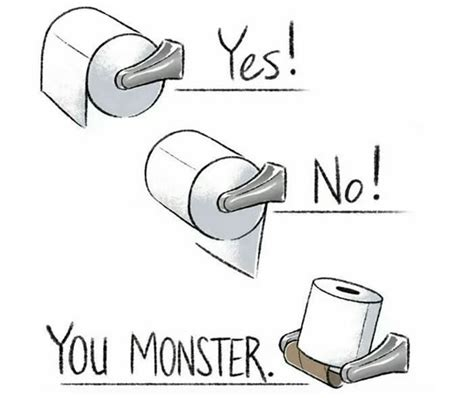 toilet paper you monster what your toilet paper reveals about your personality