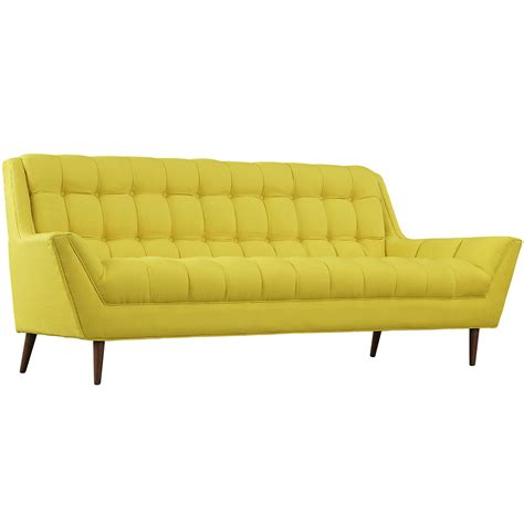 contemporary tufted sofa mid century modern response contemporary button tufted