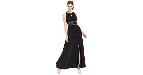r m richards sleeveless beaded evening gown r m richards r m richards sleeveless beaded evening gown