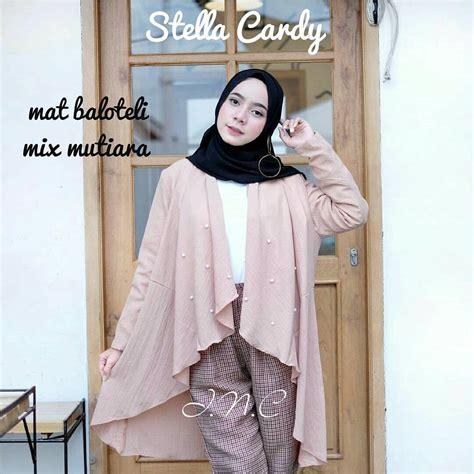 Lihat Baju Muslim Terbaru Busana Muslim Terbaru Stella Cardy Grosir Baju Muslim