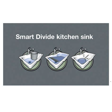 kohler smart divide sink kohler vault 3839 smart divide stainless steel sink