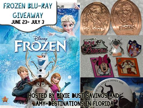 Blu Ray Giveaway - frozen blu ray giveaway