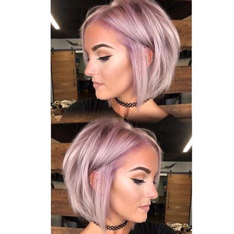 ideas  short lavender hair  pinterest