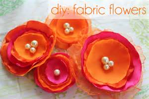 Material Flowers Diy - the forge diy fabric flower hair pins