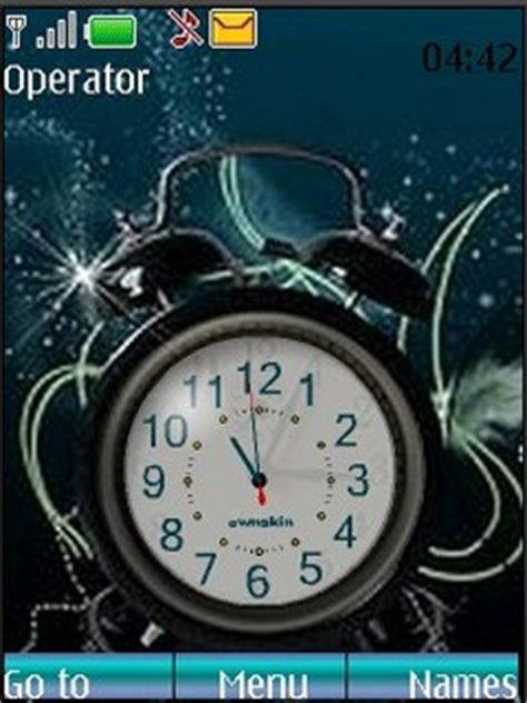 themes clock nokia mobile9 download alarm clock nokia theme nokia theme mobile toones