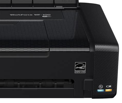 Printer Epson Workforce Wf 100 epson workforce wf 100 wireless mobile printer wi fi direct usb ebay