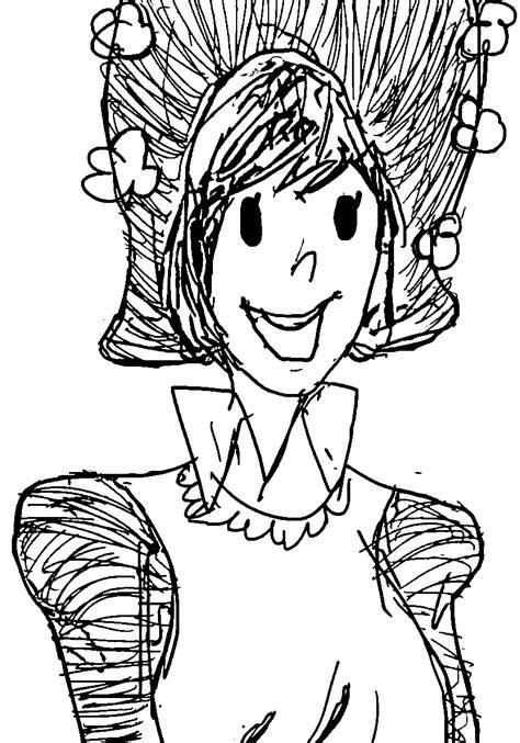amelia bedelia coloring pages images amelia bedelia draw coloring page wecoloringpage