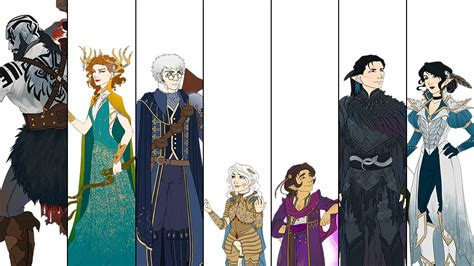 fjord character sheet critical role artist kit buss captures the evolution of