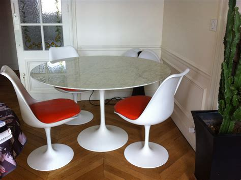 table saarinen prix table tulipe saarinen knoll international l atelier 50