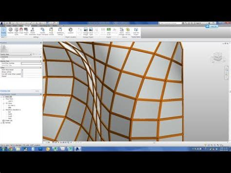 revit tutorial in tamil mullion wall