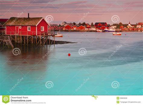 Hutte Norvege by Reine En Norv 232 Ge Photos Libres De Droits Image 28963028