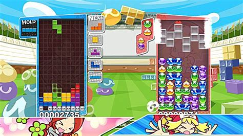 puyo puyo tetris blending two legendary puzzlers into one