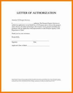 choose authorization letter sample