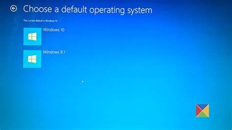 choosing windows advanced startup options in windows 10 change boot