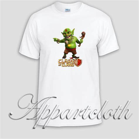 T Shirt Clash Of Clan Black clash of clans goblin king unisex tshirt