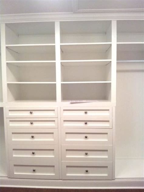 Closet Cabinets Diy by Woodwork Diy Built In Closet Systems Plans Pdf