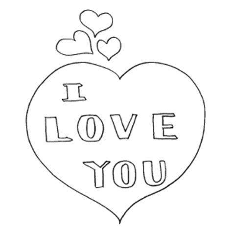 com love heart colouring pages page 3