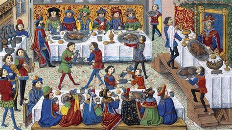 banquete medieval banquetes y comilonas en la edad media