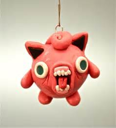 ugly jigglypuff christmas ornament by eattoast on etsy