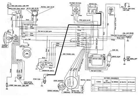 wiring diagram for 1970 honda ct70 get free image about