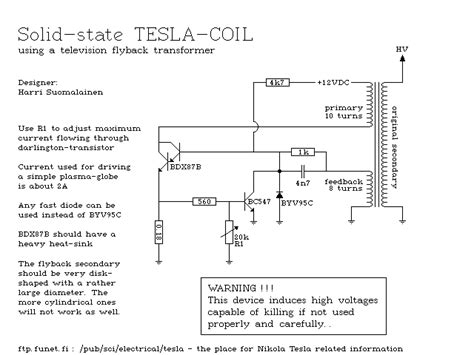 Tesla Coil Plans Search Quot Tesla Quot Related Products Page 1 Zuoda Net