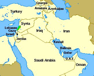 map iran syria 성경지명사전 lebanon 레바논
