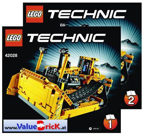 Lego Technic 42028 Bulldozer lego technic bauanleitung 42028 bulldozer valuebrick at