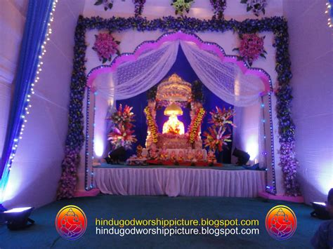 ganesh decoration at home photo studio