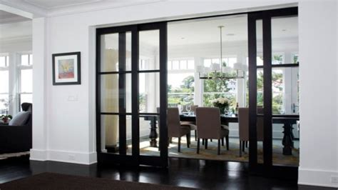 renovating bedroom dining room  sliding glass doors