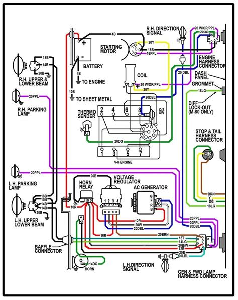 1979 chevy wiring diagram schematic free