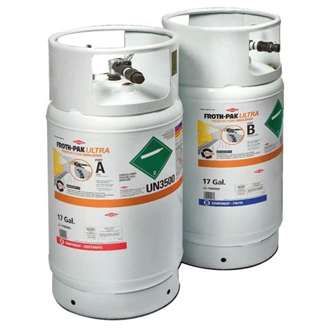 spray foam kits dow froth pak polyurethane foam refill systems general