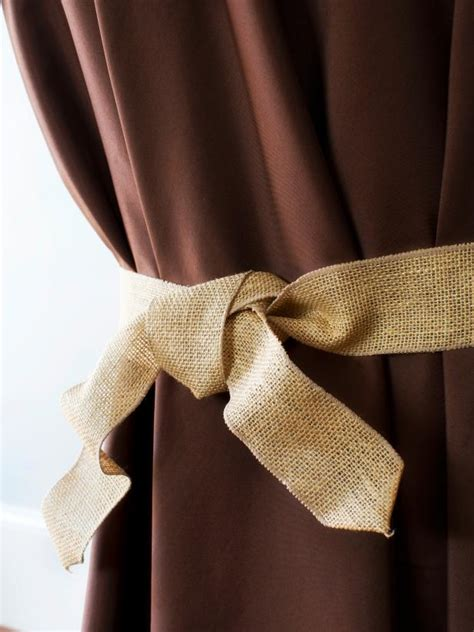 burlap curtain tie backs how to hold a wine tasting like the pros how tos diy