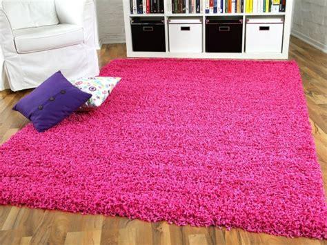 teppich rund rosa hochflor langflor shaggy teppiche in pink lila und rosa